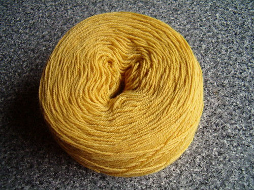 Nature dyed yarn