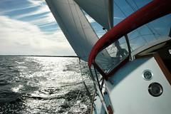 Last Sail of the Season - Greenwich Bay, Rhode Island (misterfoto) Tags: sailboat sailing wind narragansettbay greenwichbay