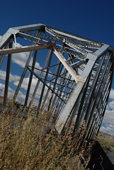 The Rio Puerco Bridge on Route 66 in New Mexico is one of the original bridges on the Mother Road