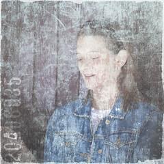 Jenny ghost (friendlydrag0n) Tags: film girl beautiful pretty damage faux fade scratch distress abrade