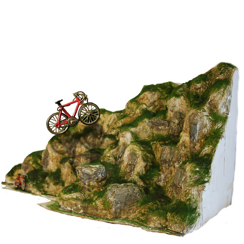 Bike Mountain Illustration