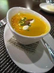 Appetiser: Cream of Celeriac Soup