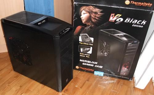 Thermaltake V9 Black Edition kompiuterio korpusas