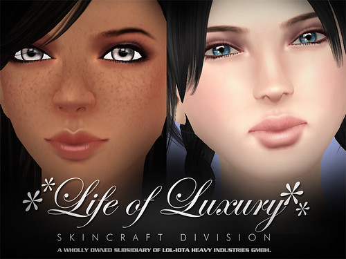 "✻✻LIFE of LUXURY✻✻ Eloh Eliot Gorgeous Masterskinworks Skin Collection 2008-2009 ""The Free ♥♥♥ Spirit of Gradient Mesh Years"" (Female)"
