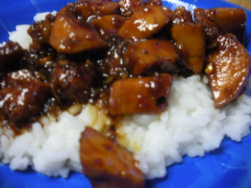 Sticky Sweet: Bourbon Chicken | What's Cooking in Leslie's Kitchen?