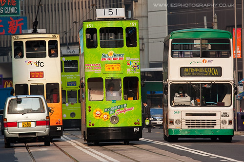 Hong Kong Tram and Bus