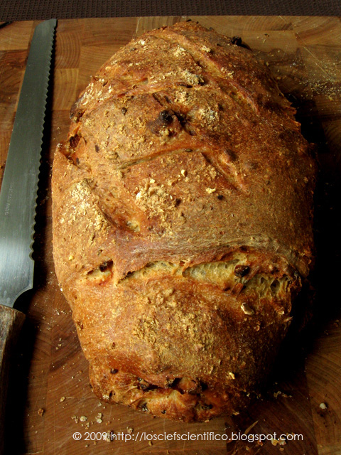 Chestnut & Bacon Bread