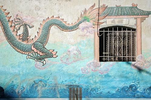 Chinatown wall