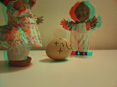 (here, where?) Tags: monster 3d nikon egg anaglyph d60 mostri anaglifo bamboline
