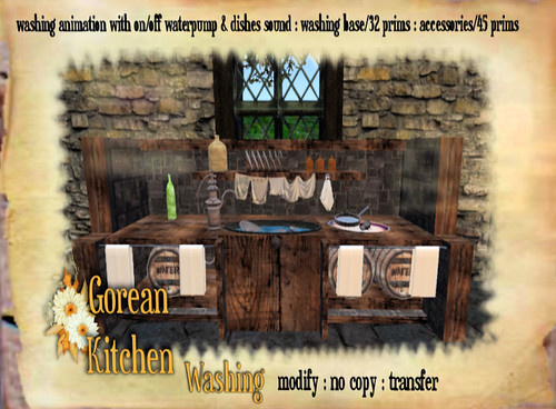 Worlds Apart Gorean Kitchen