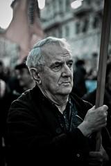 Continuiamo a portare avanti i nostri ideali... (*Clara ~ Fermina*) Tags: lo uomo manifestazione contro ideali psiconano nobday noberlusconiday