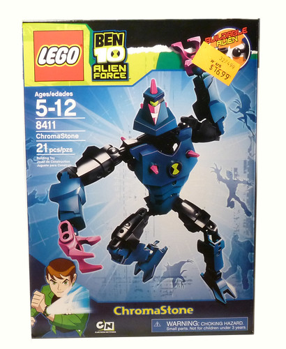 CRAP 8411 - ChromaStone - 2010 LEGO Ben-10 - Box