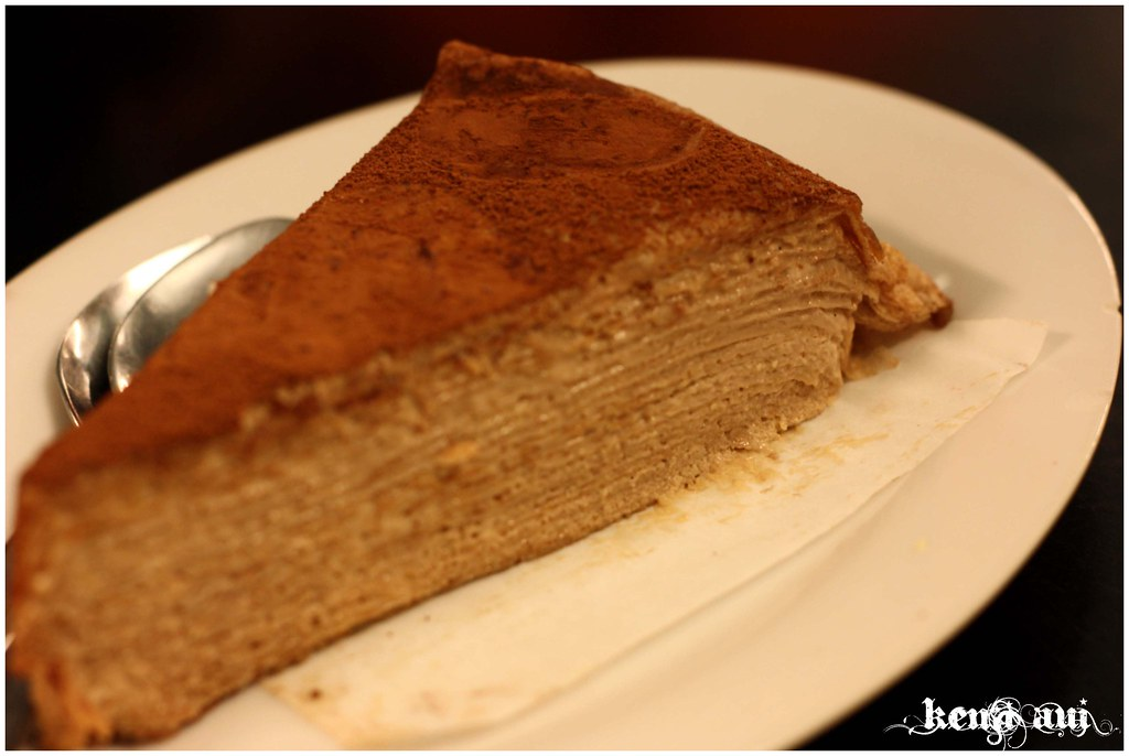 Mille crepe cake-Choc