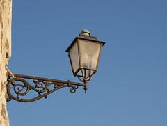 ...blue... (Ciao Anita!) Tags: italy castle italia campania fort streetlamp na napoli naples fortress castello italie lampione lantaarn napels vomero