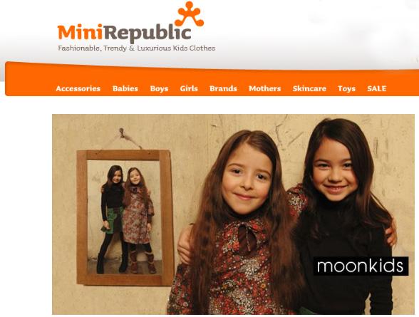 Regalos infantiles, tienda online Minirepublic.com