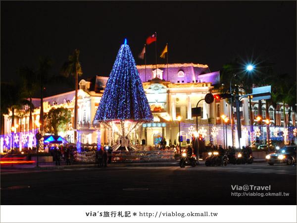 台中耶誕節活動-台中市政府耶誕裝飾12