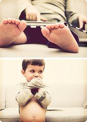 12/365. The boy (Gudrun Vald) Tags: boy barn reading book toddler diptych toes child pad tummy 365 magi 2yearold twoyearold tych tr krakki torfi project365 strkur 365proj