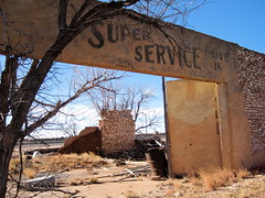 Super Service Drive In, Yeso, NM (Robby Virus) Tags: newmexico building abandoned ruins decay fallingapart yeso