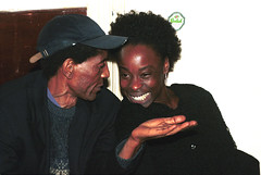 Ms Brazil & African Writer Wilson Katiyo (RIP) at the Africa Centre London Sept 2001 008 (photographer695) Tags: ms brazil african writer wilson katiyo rip africa centre london sept 2001