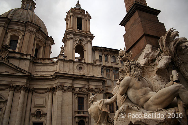 Fontana di Quattro Fiumi. © Paco Bellido, 2010