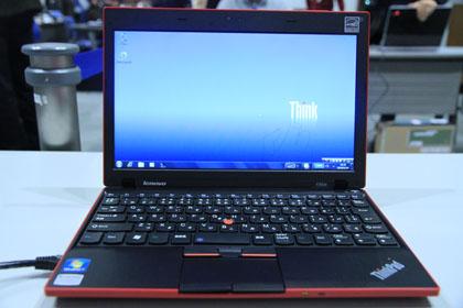 ThinkPad X100e レッド