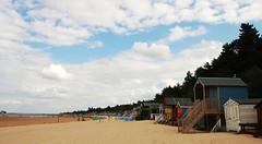 DSC_0283 (emilygoold) Tags: clouds sand norfolk wells beachhut wellsnextthesea pinewoods