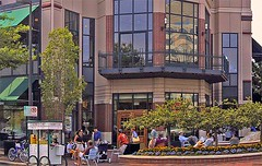 Bethesda Row's plaza (by: EPA Smart Growth)