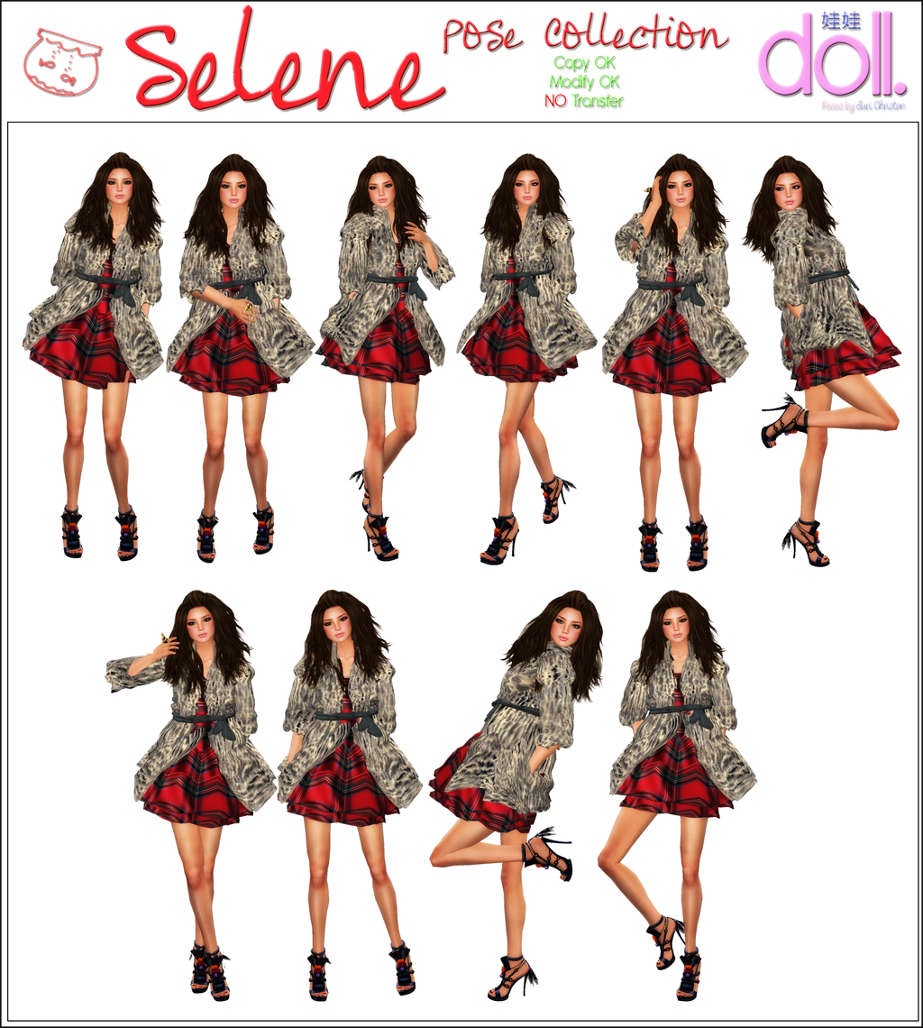 [doll.] SELENE Pose collection