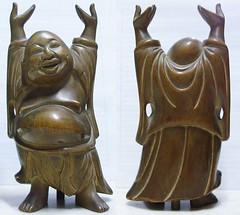 Buda, 1949. (Fortunato Cesr Burgos) Tags: madera escultura felicidad buda cedro