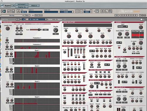 reaktor: vierring screenshot