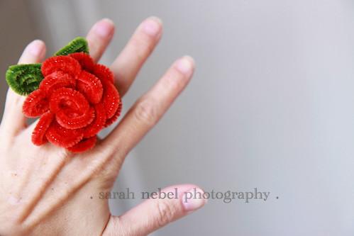 . valentine ring .