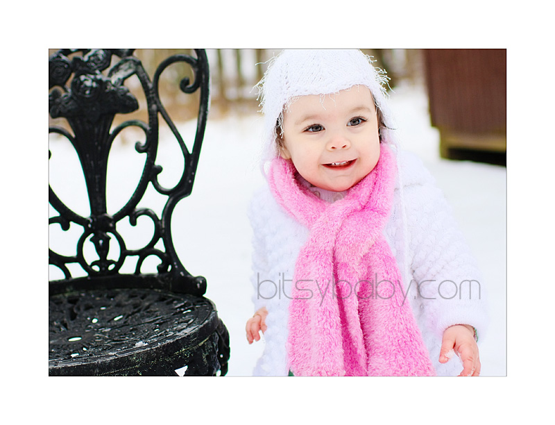 little snow angel =)