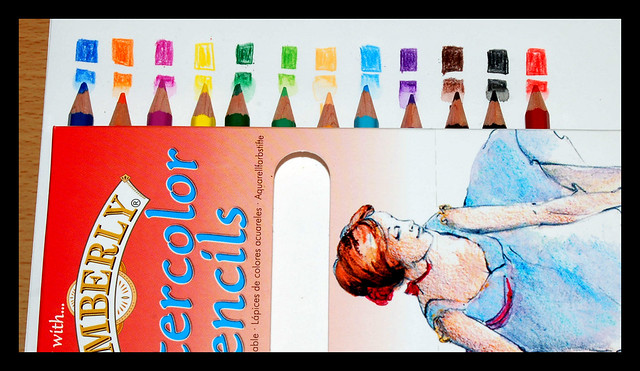 Kimberly Watercolor Pencils by jdrosecom