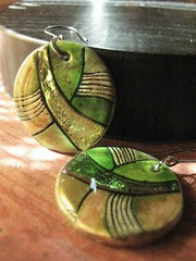 Unique Jewelry Handmade (pedro da fonseca) Tags: ceramic handmade unique bulgaria earrings brincos velikotarnovo feitomo marianabankova pedrosshopbulgaria