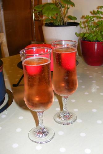 Pink fizz!