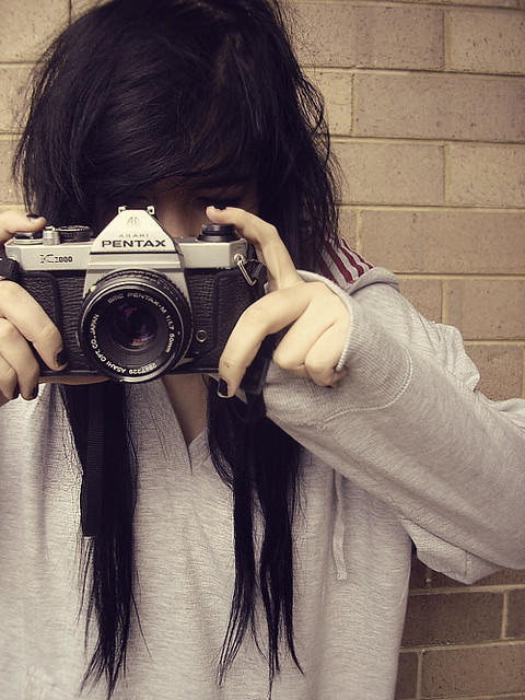 My old vintage camera 0.o by -morgan murders.˟