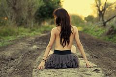 road to sunset (erre castillo) Tags: girl nude artistic castillo sunflare erre