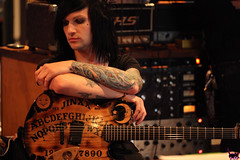 Jinxx - Studio (sammi.doll) Tags: music andy rock studio album ashley gothic band purdy six recording fuchs bvb screamo sixx alvarenga ashleypurdy jinxx blackveilbrides andy6 sandraalvarenga jakepitts