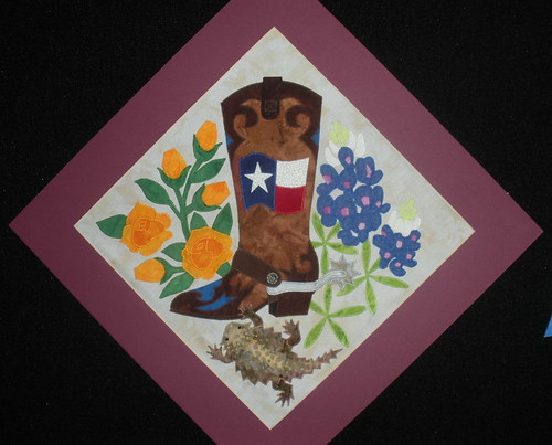 Texas Boots Baltimore Style Block by Tonya Littman