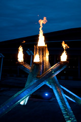 DSC_5113 (the PhotoPhreak) Tags: winter vancouver whistler fire symbol flame olympic cauldron 2010 paralympic