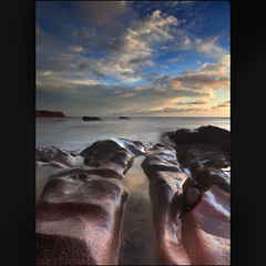 Auchmithie Dawn (angus clyne) Tags: sea coast scotland angus north east auchmithie colorphotoaward wonderworldgallery