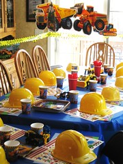 Construction Birthday Party (Kid's Birthday Parties) Tags: birthday decorations party construction constructionhats constructionparty constructionthemeparty partytabledecorations constructionbirthday constructionpartytable constructionpartydecorations boyspartytheme