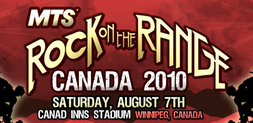 Rock On The Range Lineup 2011. Rock on the Range returns to