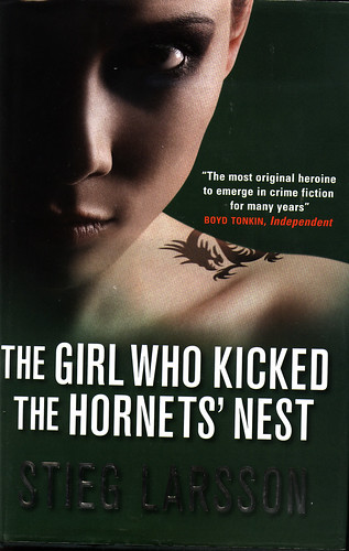 THE GIRL WHO KNOCKED THE HORNET'S NEST