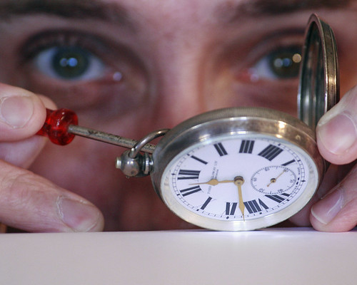 The Watchmaker by Alan Cleaver, on Flickr