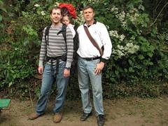 Allan, Luna and Ron