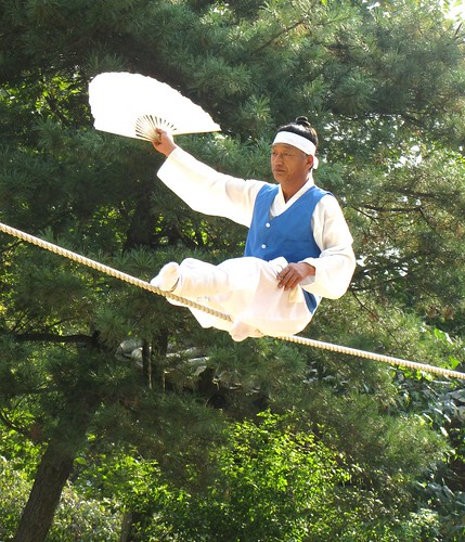 Korea Trip - Tightrope 1