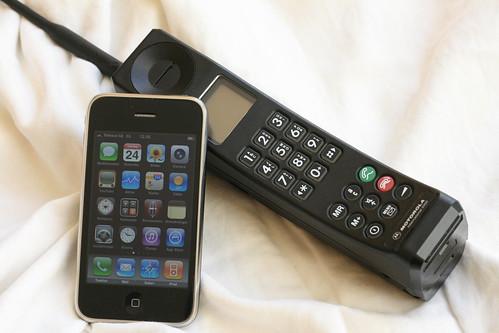 La evolución de la telefonía móvil
