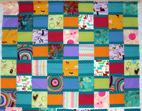Doggie Bed, the quilt