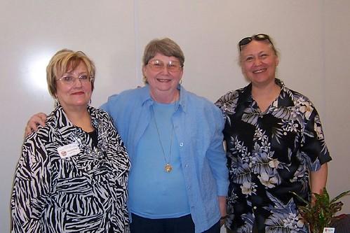 Flossie Benton Rogers, Loretta Rogers, and Elissa Malcohn